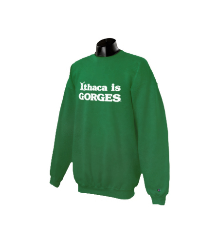 Ithaca is GORGES Crew Neck Sweat Shirt