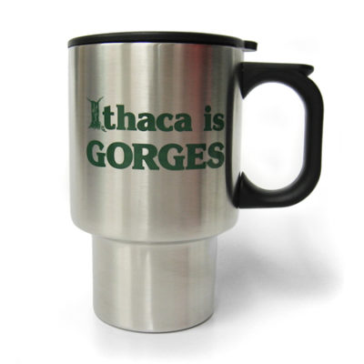 Ithaca is GORGES Stainless Steel Travel Mug
