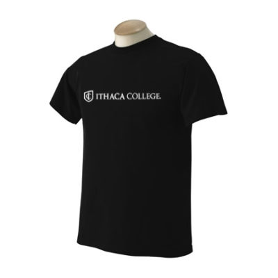 Ithaca College 1 Line Logo T-Shirt