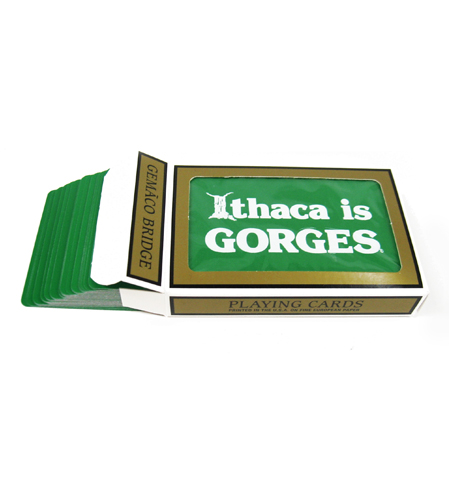 Ithaca is GORGES Playing Cards