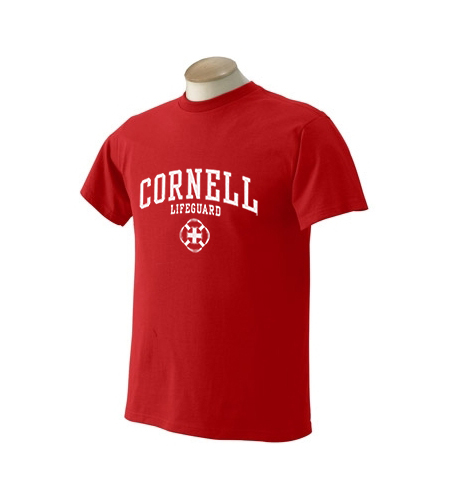 Cornell University Lifeguard Sport T-Shirt