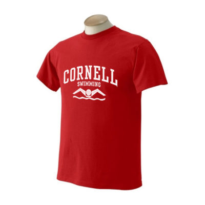 Cornell University Swimming Sport T-Shirt
