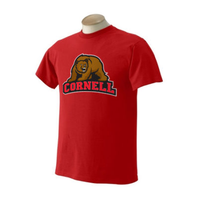 Cornell University 5 Color Bear T-Shirt
