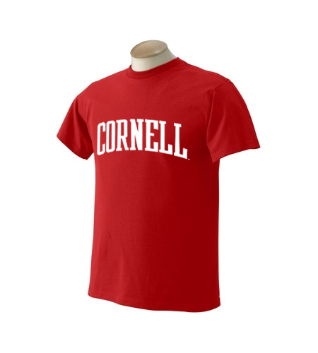 Cornell University Arched-Text T-Shirt