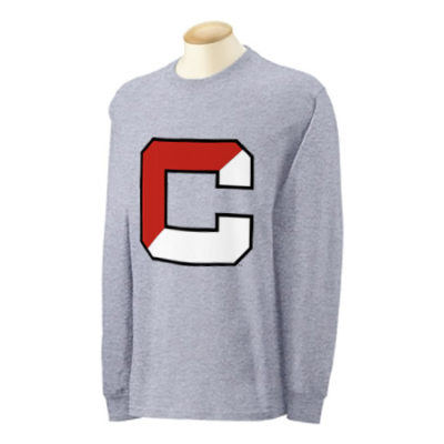 Cornell University 3 Color C Long Sleeve Shirt