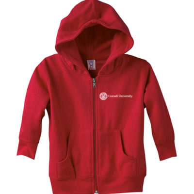 Cornell University Seal Toddler Zip Hooded Sweatshirt
