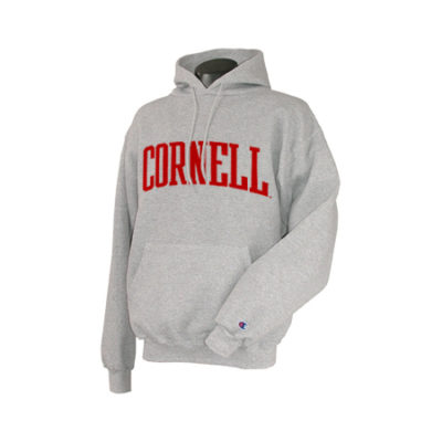 Cornell Arched Pull Over Hooded Sweatshirt