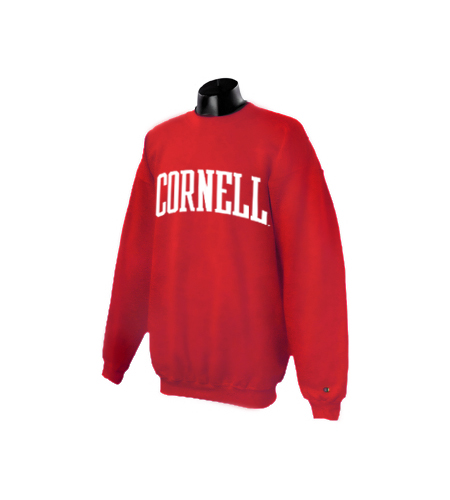Cornell Arched Crew Neck Sweatshirt