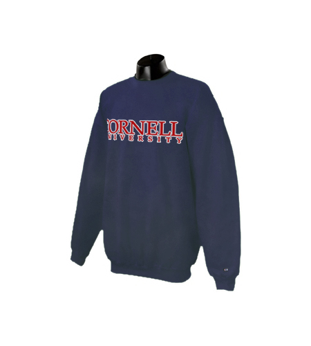 Cornell University Crew Neck Sweatshirt