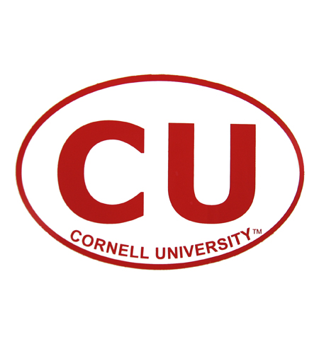 Cornell University Oval Bumper Sticker