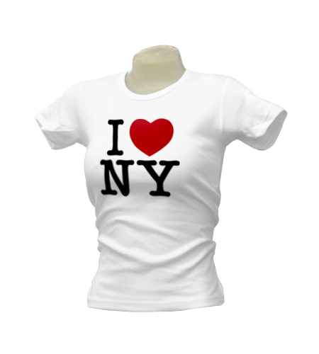 I heart NY Ladies T-Shirt