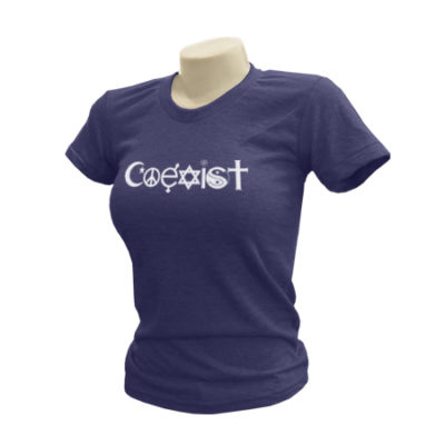 Coexist Ladies T-Shirt