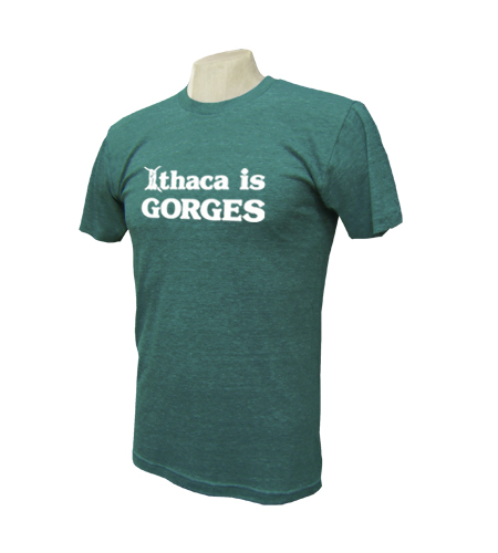 Ithaca is GORGES American Apparel Triblend Track T-Shirt